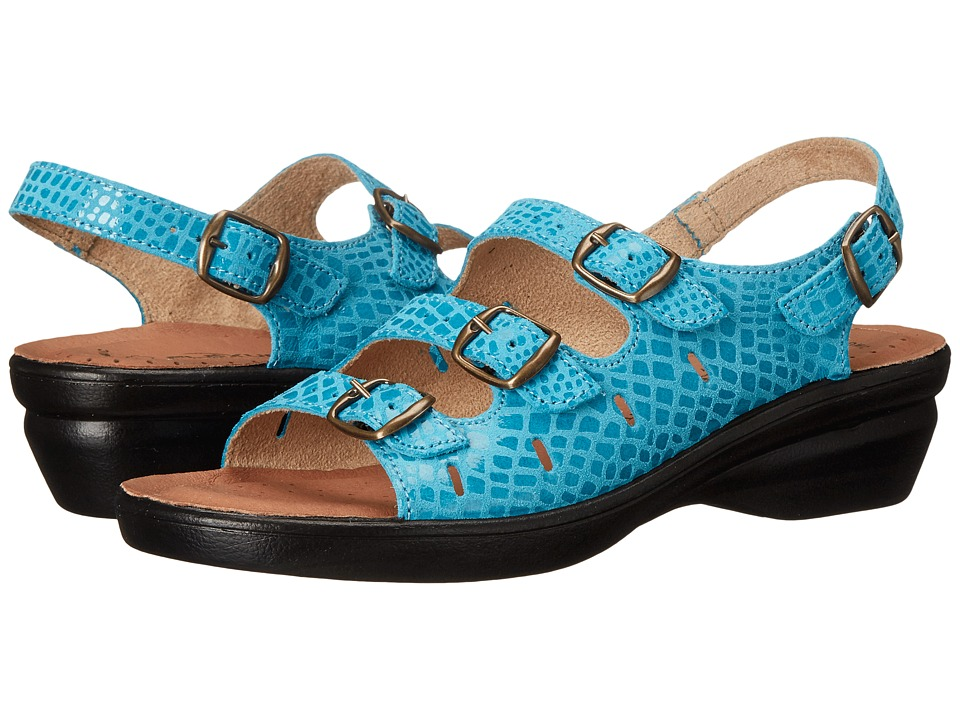 Spring Step - Adriana (Blue) Women's Shoes