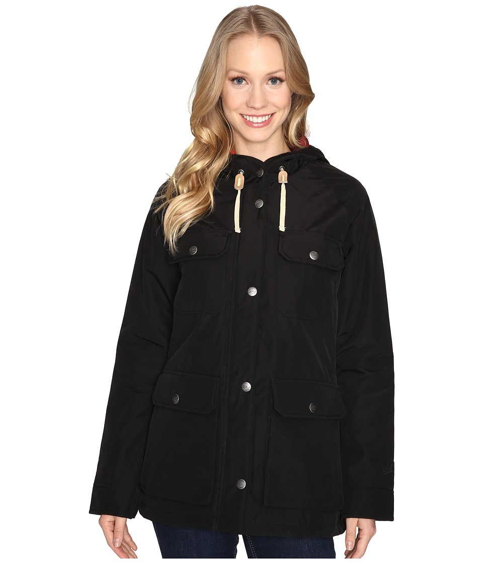 Woolrich - Advisory Wool Insulated Mountain Parka (Black) Women's Coat