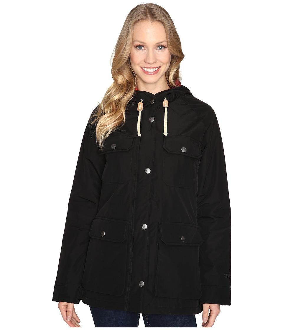 Woolrich - Advisory Wool Insulated Mountain Parka (Black) Women's Coat