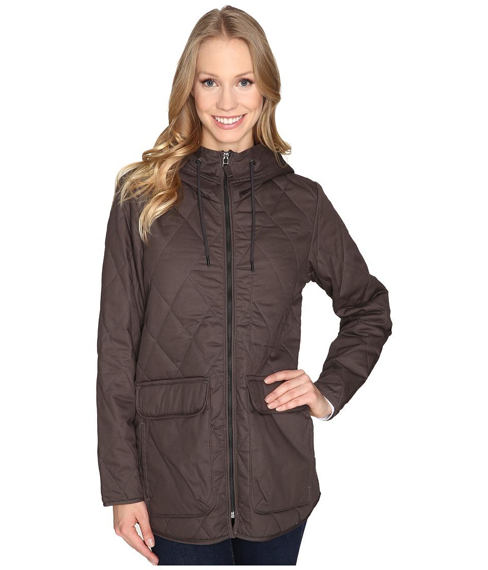 Woolrich - Keepsake Quilted Parka (Matte Gray) Women's Coat