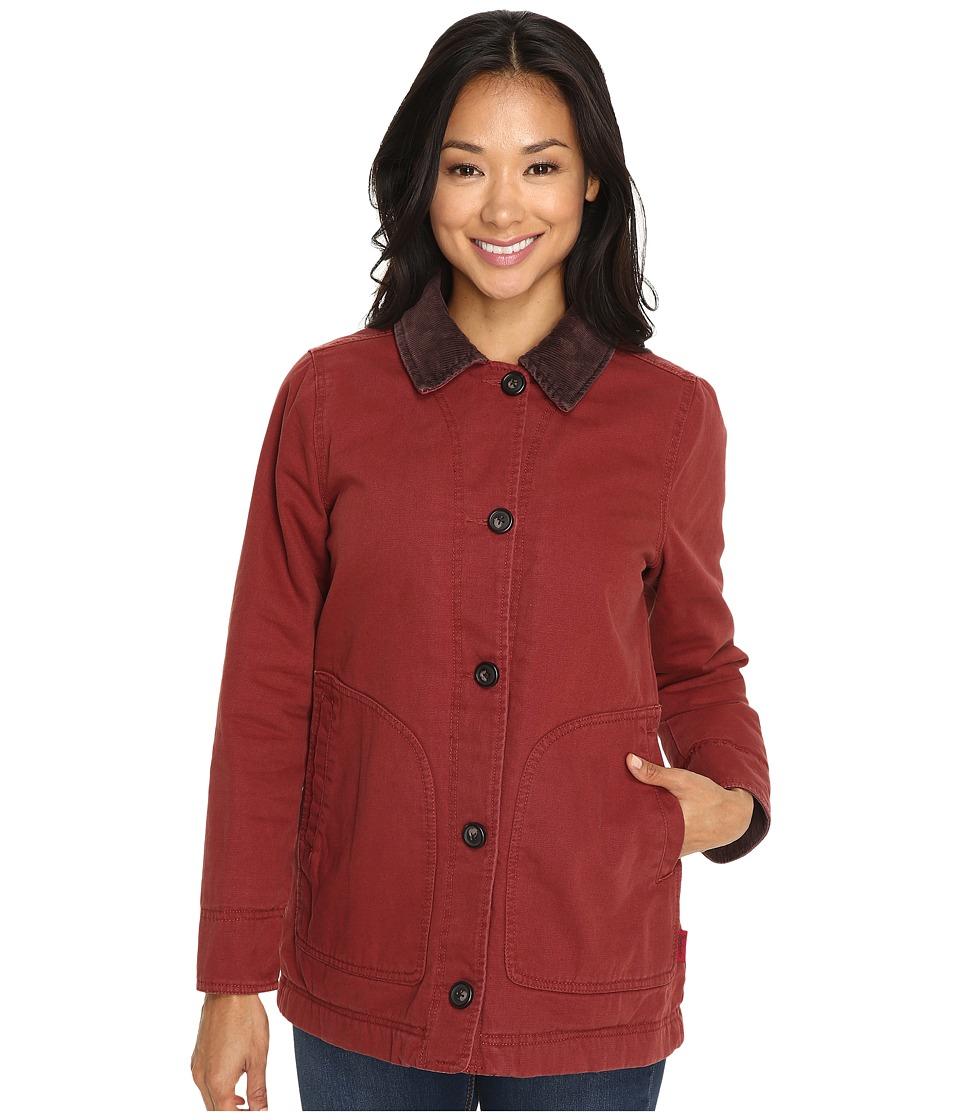 Woolrich - Dorrington Barn Jacket (Auburn) Women's Jacket