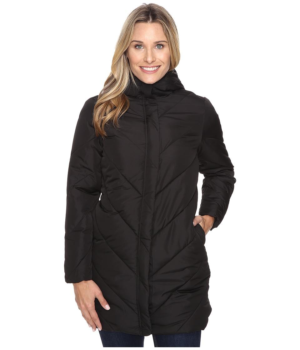 Woolrich - Cozy Crest Hooded Jacket (Black) Women's Coat
