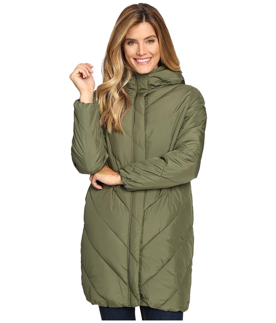 Woolrich - Cozy Crest Hooded Jacket (Eucalyptus) Women's Coat