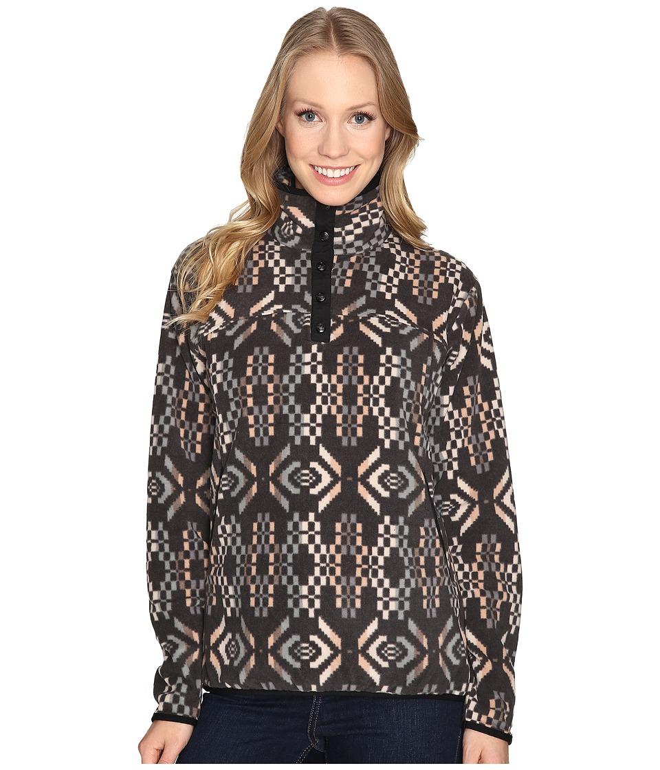 Woolrich Trail Blazing Printed Pullover (Matte Gray) Women