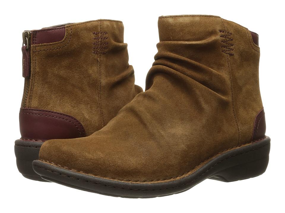 Clarks - Avington Swan (Tan Combo Suede) Women's Boots
