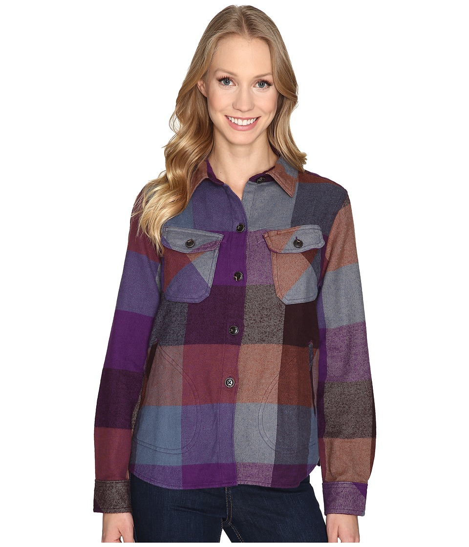 Woolrich - Oxbow Bend Shirt Jac (Wisteria Multi) Women's Long Sleeve Button Up