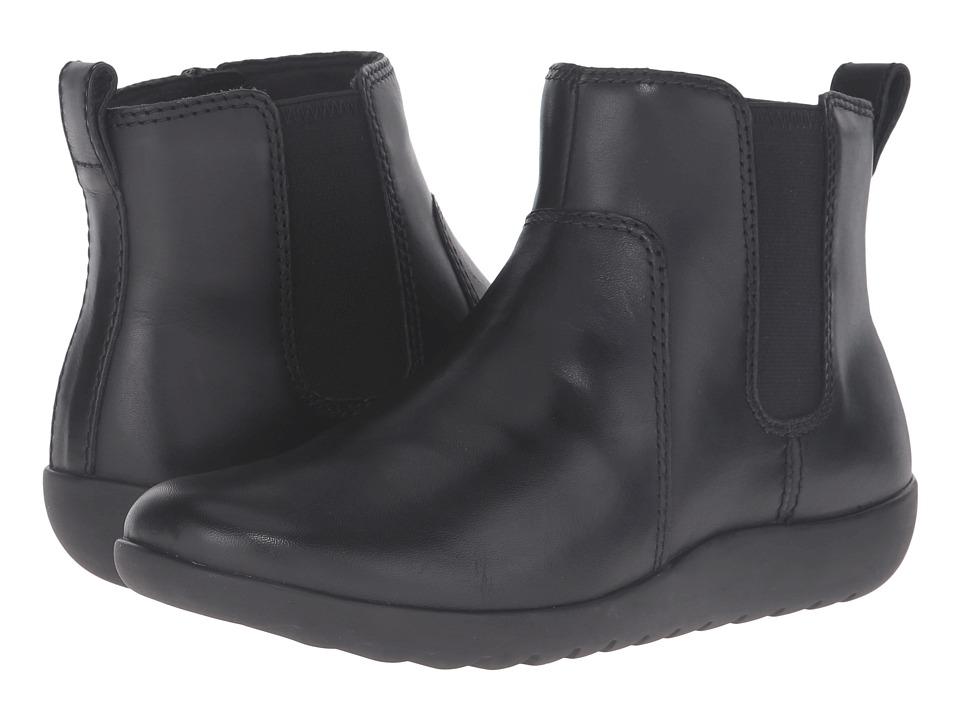 Clarks - Medora Grace (Black Leather) Women's Shoes