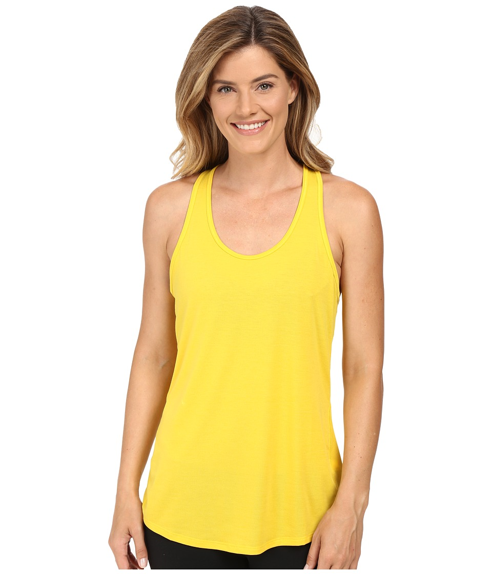 Lucy - Workout Racerback (Safflower) Women's Clothing