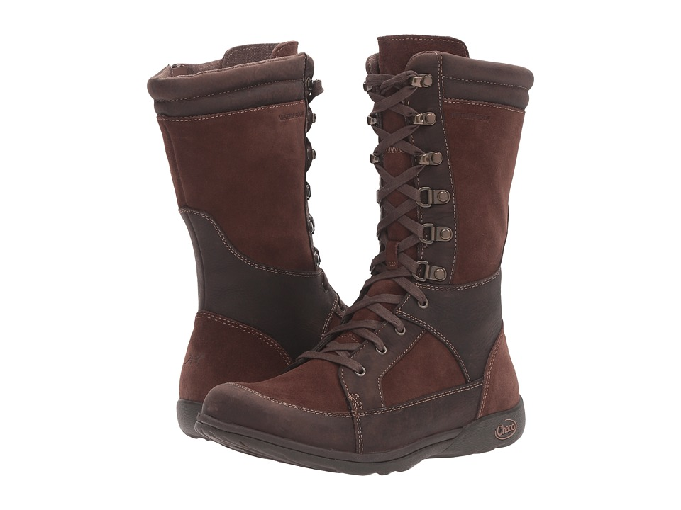 Chaco - Lodge Waterproof (Pinecone Brown) Women's Waterproof Boots