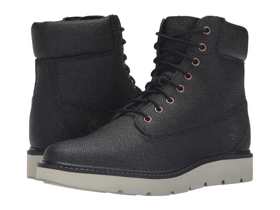 Timberland - Kenniston 6 Lace-Up Boot (Black Helcor Leather) Women's Lace-up Boots