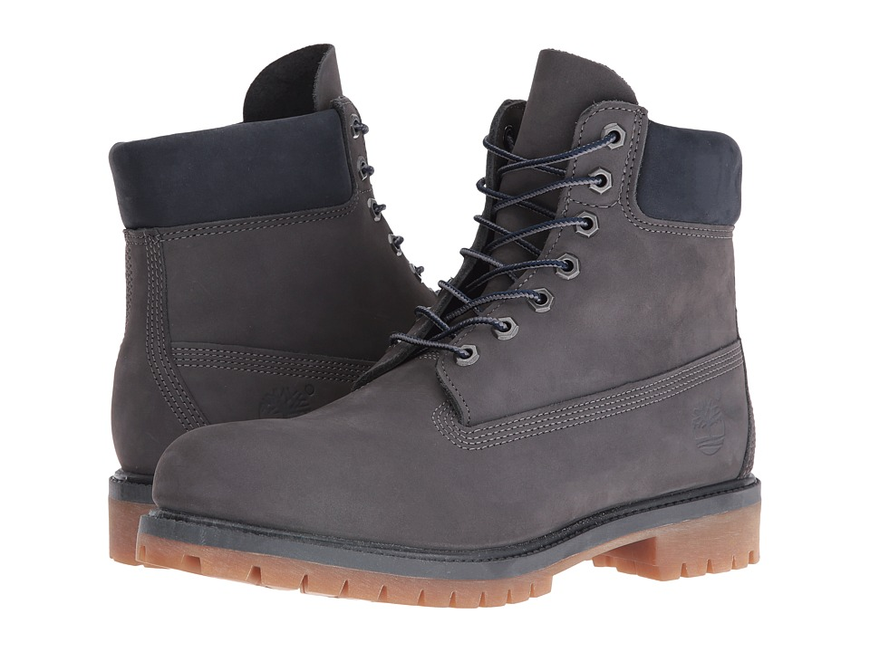 Timberland - 6 Premium Boot - Autumn Mashup (Forged Iron Waterbuck NB) Men's Work Boots
