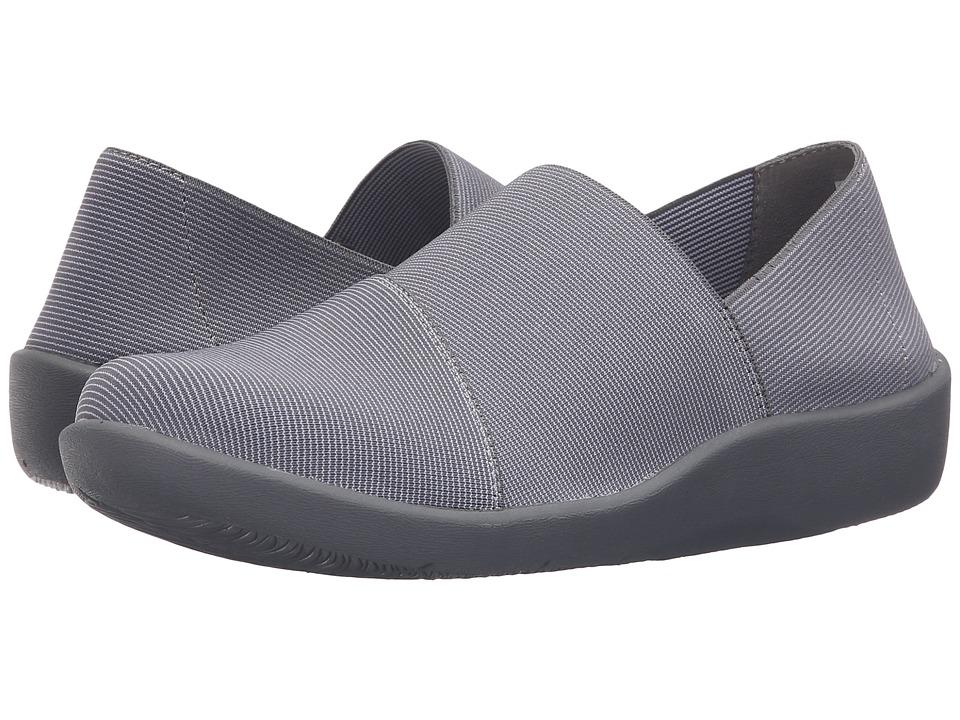 Clarks - Sillian Firn (Grey Synthetic) Women's Shoes