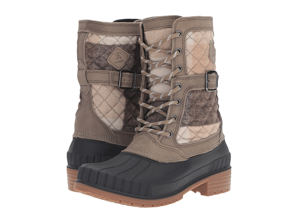 Kamik - Sienna (Taupe) Women's Cold Weather Boots