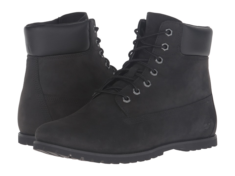 Timberland - Joslin 6 Boot (Black Nubuck) Women's Lace-up Boots