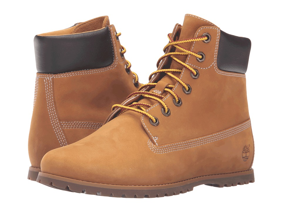 Timberland - Joslin 6 Boot (Wheat Nubuck) Women's Lace-up Boots