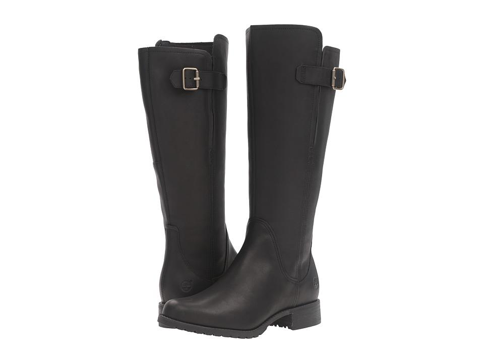 Timberland Banfield Tall All Fit Waterproof Boot (Black Full Grain) Women