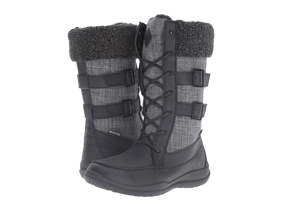Kamik - Addams (Black) Women's Lace-up Boots