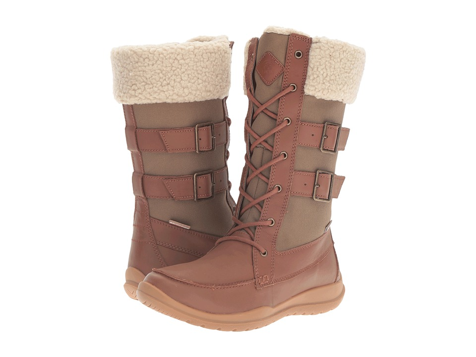 Kamik - Addams (Tan) Women's Lace-up Boots