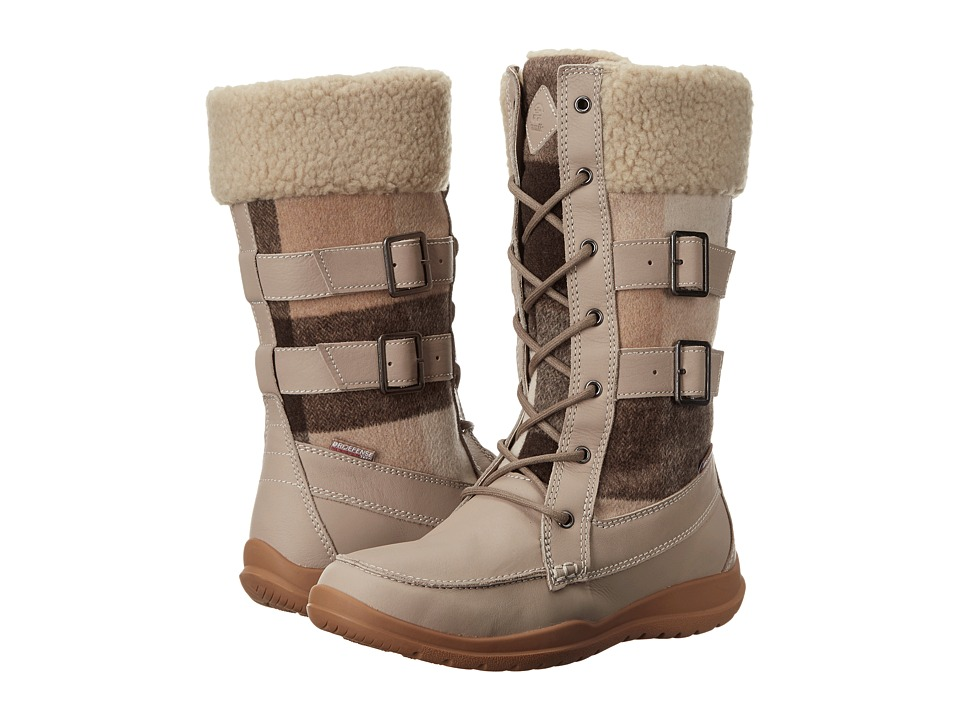 Kamik - Addams (Taupe) Women's Lace-up Boots