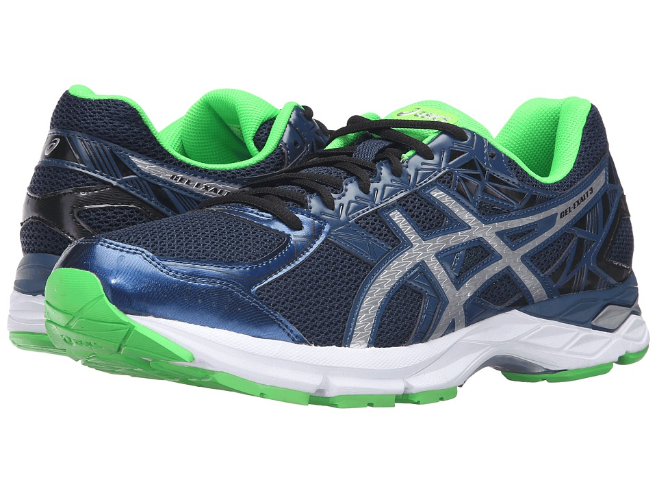 ASICS - Gel-Exalt 3 (Poseidon/Silver) Men's Running Shoes