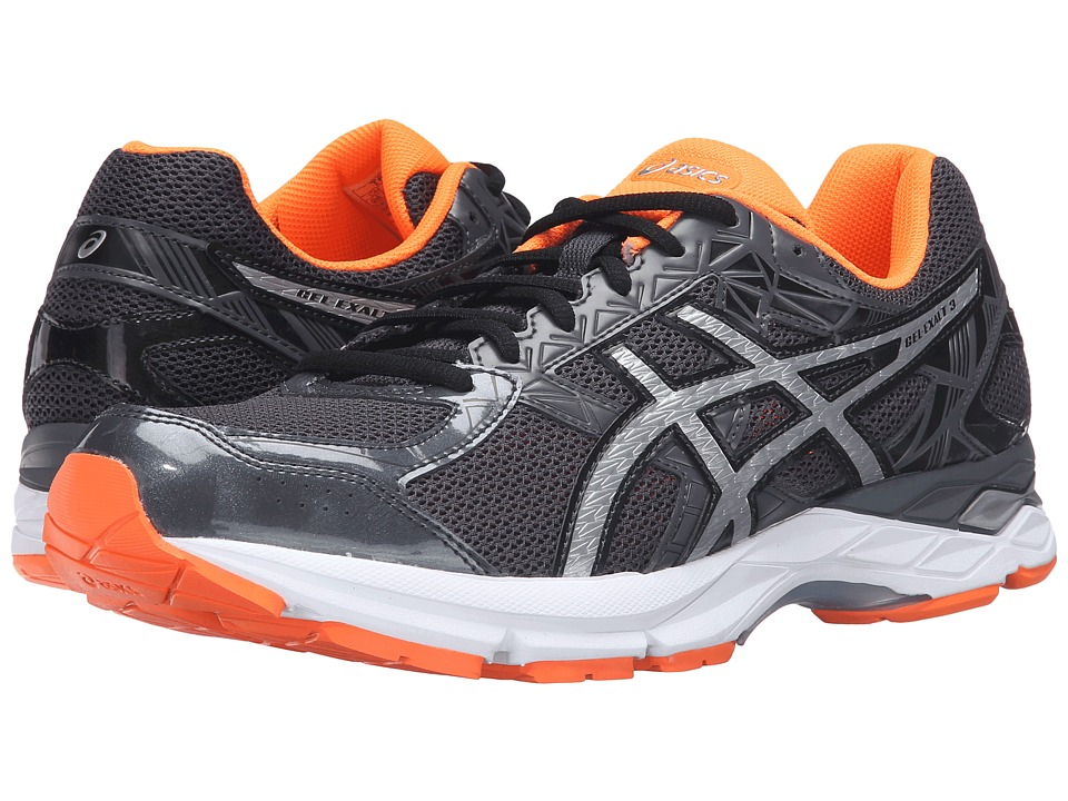 ASICS - Gel-Exalttm 3 (Dark Grey Orange) Men's Running Shoes