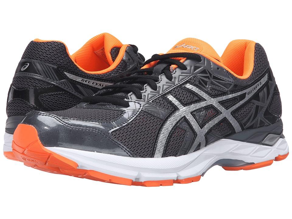 ASICS - Gel-Exalttm 3 (Dark Grey Orange) Men's Running Shoes