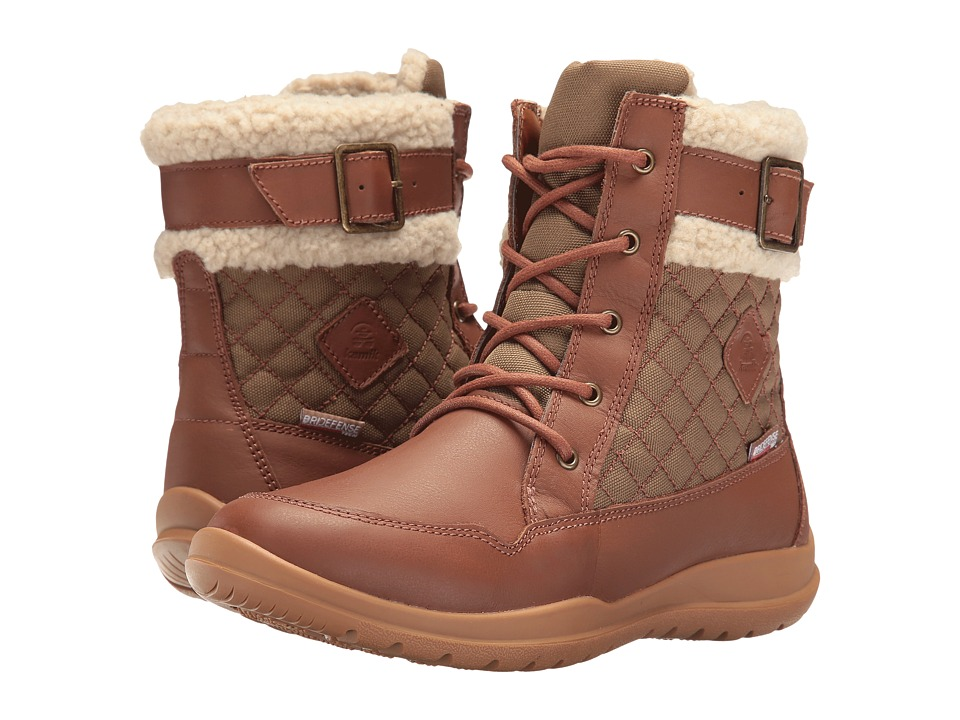 Kamik - Barton (Tan) Women's Lace-up Boots