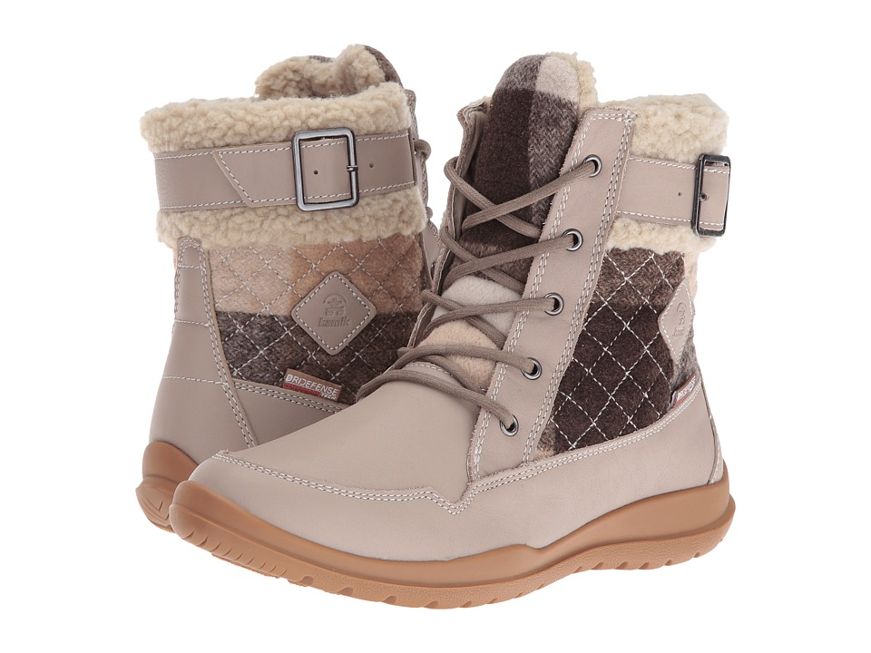 Kamik - Barton (Taupe) Women's Lace-up Boots