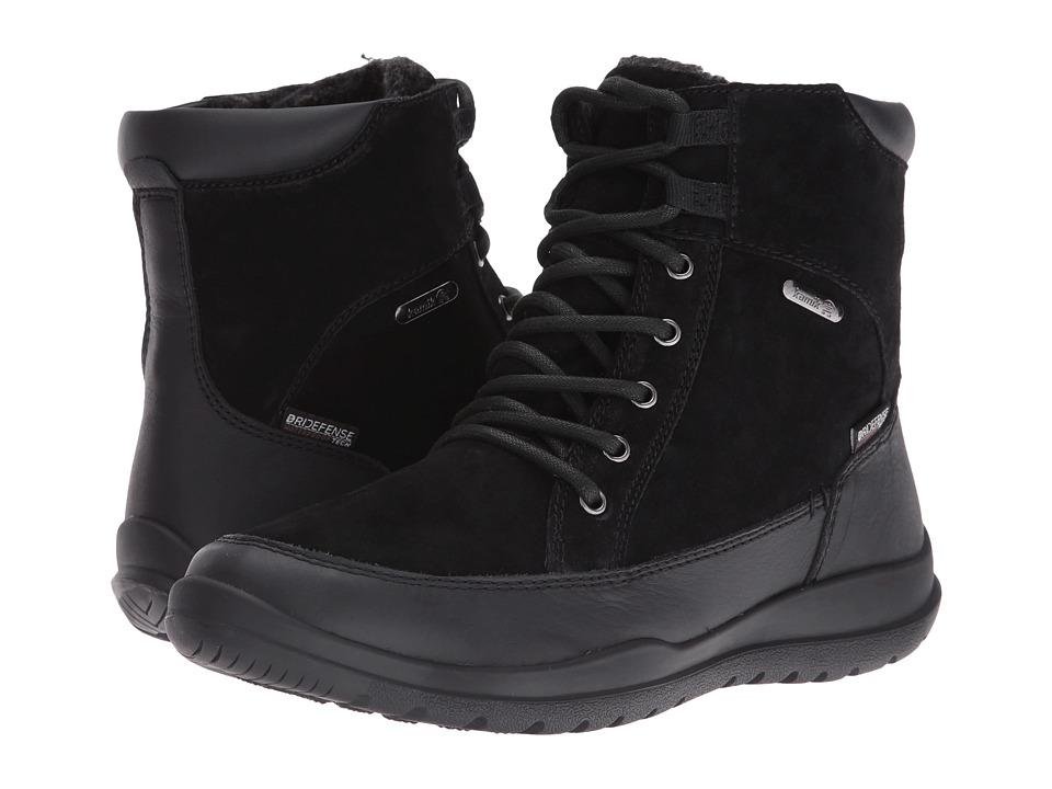 Kamik - Shawna (Black) Women's Lace-up Boots