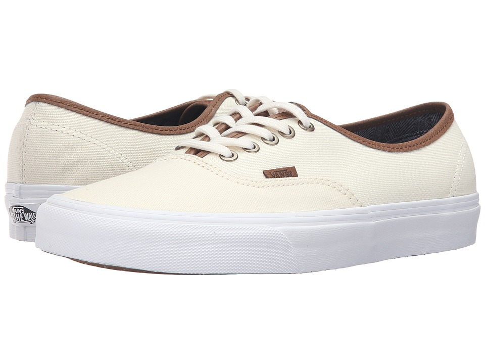 Vans - Authentic ((C&L) Classic White/True White) Skate Shoes