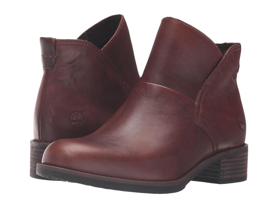 Timberland Beckwith Side Zip Chelsea Boot (Medium Brown Full Grain) Women