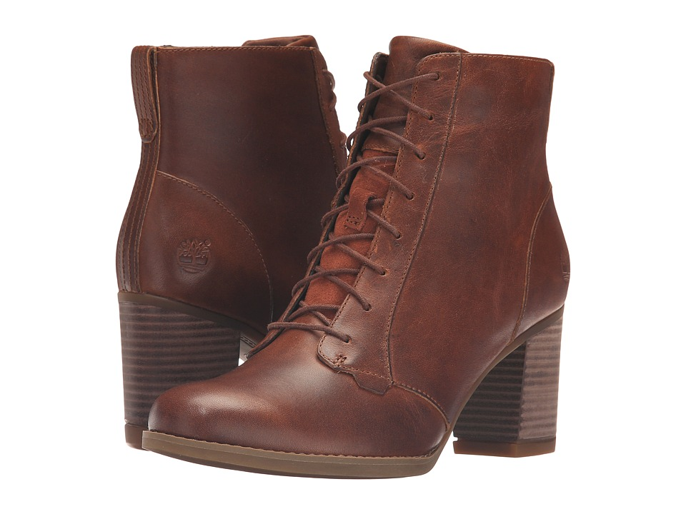 Timberland Atlantic Heights Lace Chukka Boot (Medium Brown Full Grain) Women