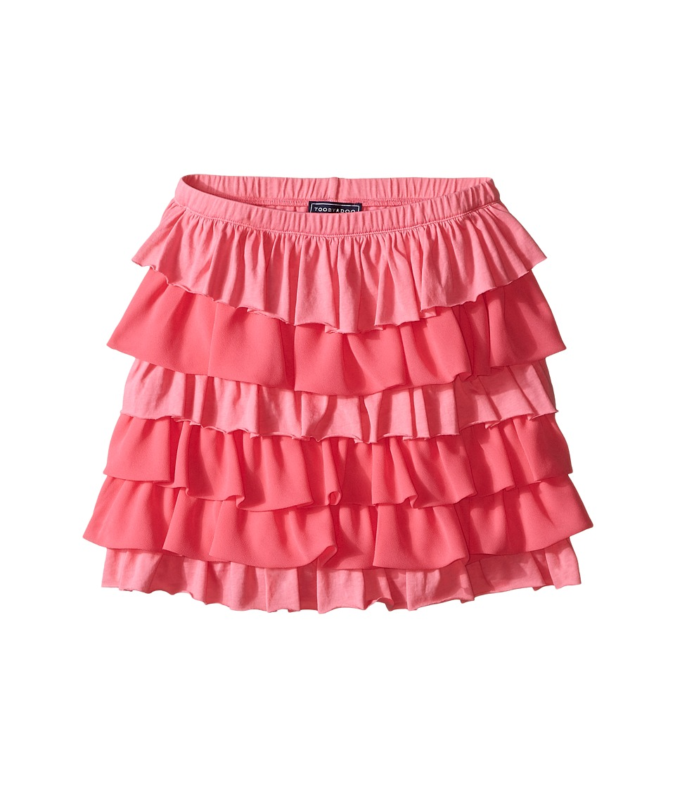 Toobydoo - Love to Twirl Ruffle Skirt (Toddler/Little Kids/Big Kids) (Pink) Girl's Skirt