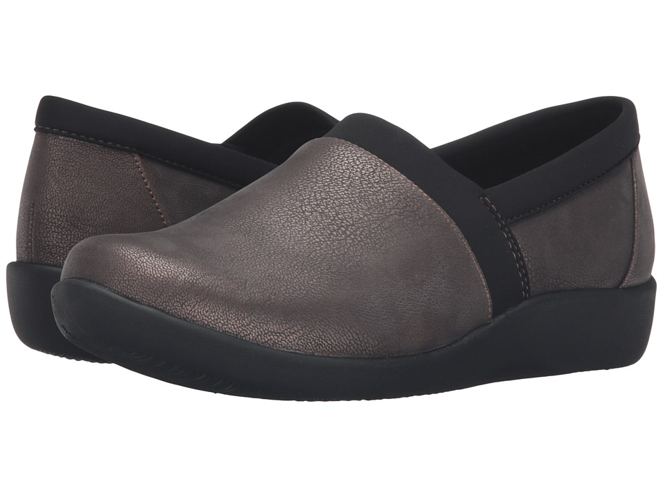 Clarks - Sillian Blair (Bronze Metallic Synthetic Nubuck) Women's Shoes