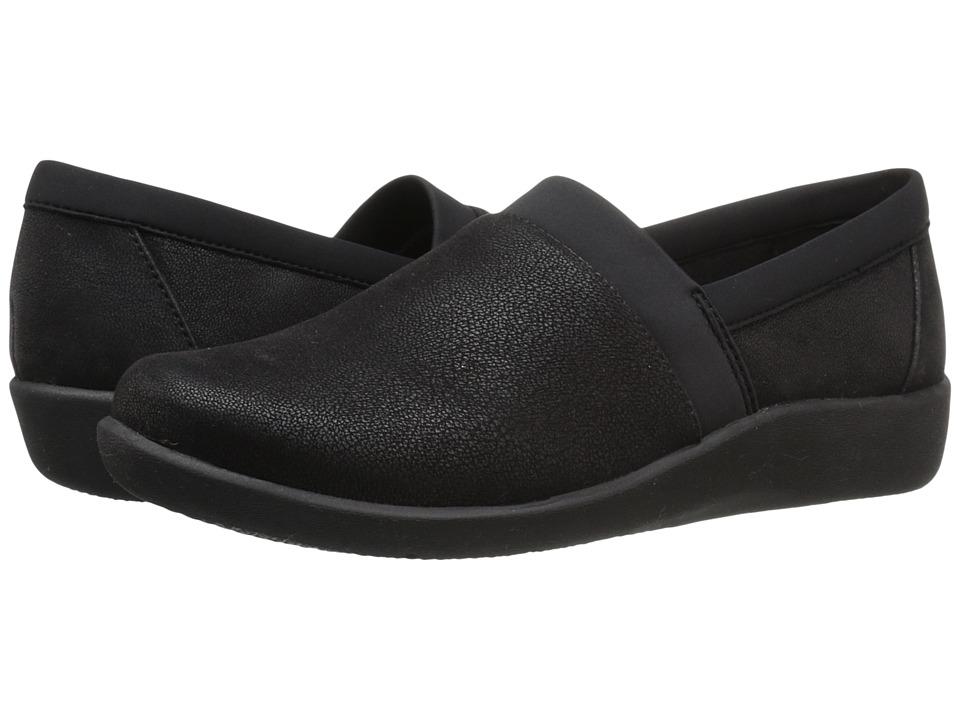Clarks - Sillian Blair (Black Syntheitc Nubuck) Women's Shoes