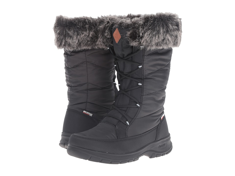 Kamik - Yonkers (Black) Women's Cold Weather Boots