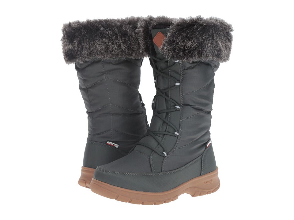 Kamik - Yonkers (Khaki) Women's Cold Weather Boots