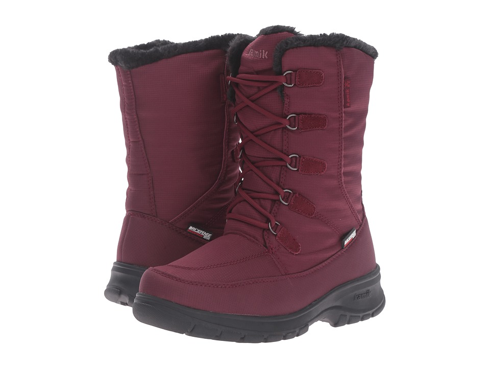 Kamik - Brooklyn (Burgundy) Women's Cold Weather Boots
