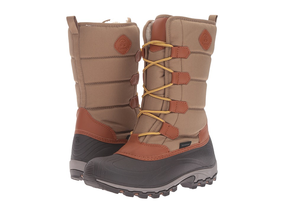 Kamik - McGrath (Khaki) Women's Cold Weather Boots