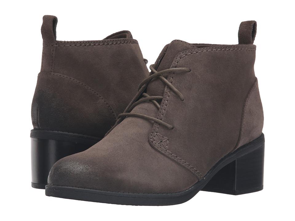 Clarks - Nevella Harper (Khaki Suede) Women's Boots