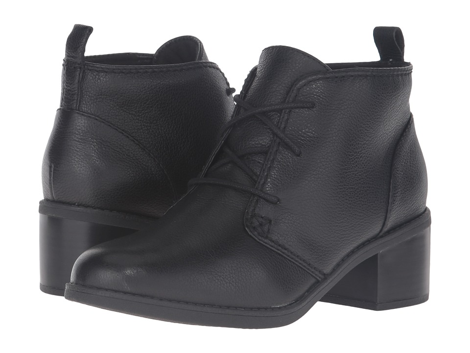 Clarks - Nevella Harper (Black Leather) Women's Boots