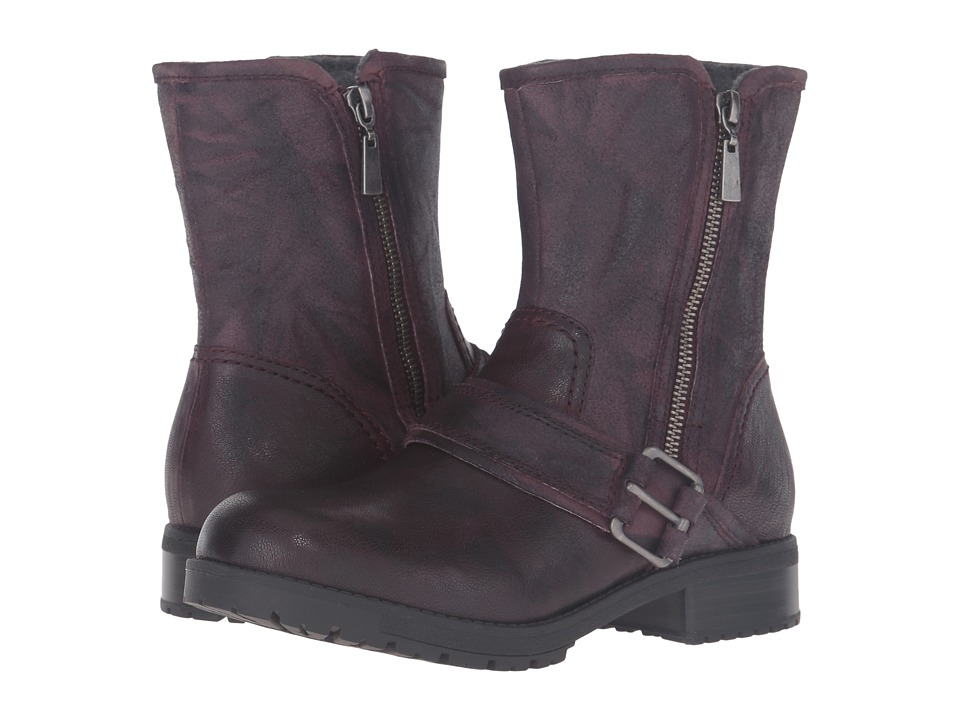 Clarks - Faralyn Rise (Aubergine Suede) Women's Boots