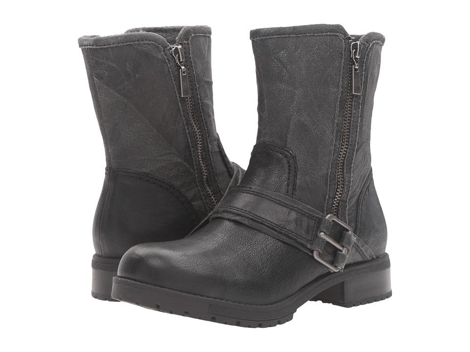 Clarks - Faralyn Rise (Black Nubuck) Women's Boots