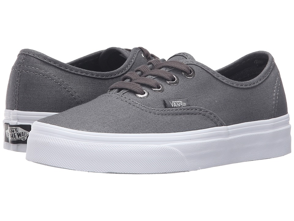 Vans - Authentic ((Multi Eyelets) Perf/Gray) Skate Shoes