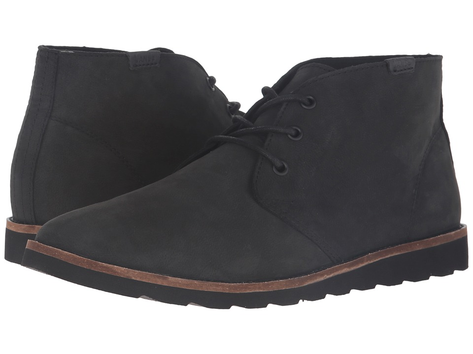 Vans - Desert Chukka (Black Nubuck) Men's Shoes