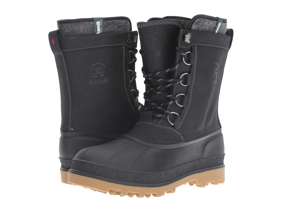 Kamik - William (Black) Men's Cold Weather Boots
