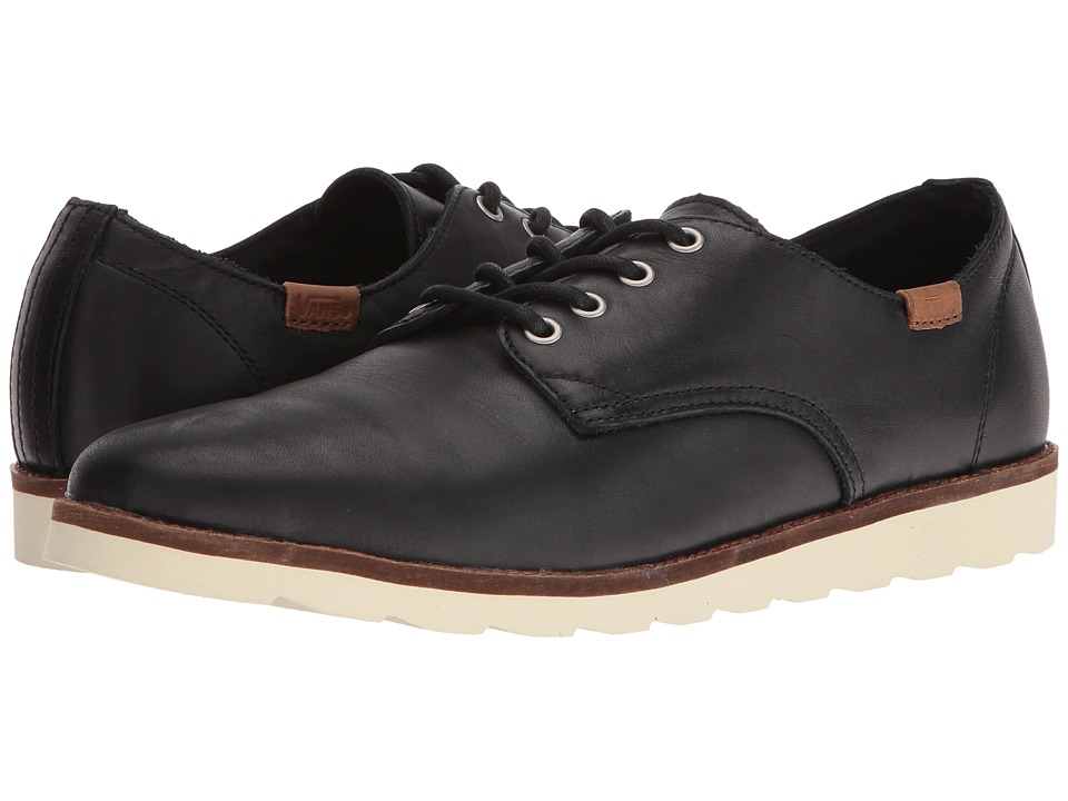 Vans - Desert Point (Black Leather) Men's Shoes