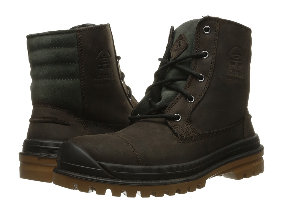 Kamik - Griffon (Dark Brown) Men's Lace-up Boots