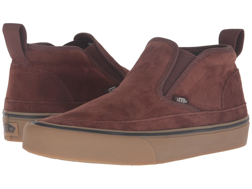 Vans Mid Slip SF (Brown/Light Gum) Men