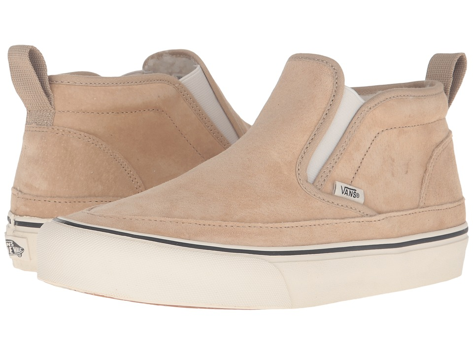 Vans - Mid Slip SF (Incense Suede) Men's Skate Shoes